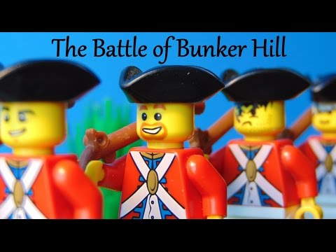 Lego American Revolution Bunker Hill