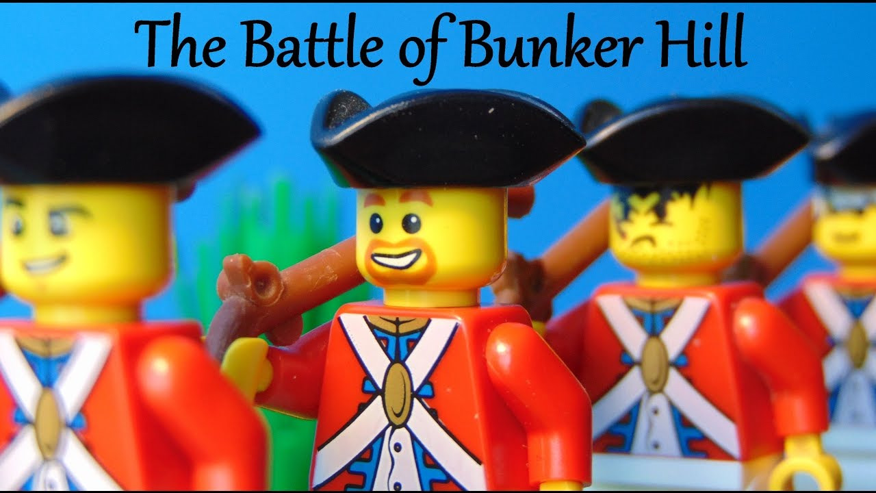 Lego American Revolution Bunker Hill Youtube
