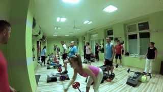 Hot Iron edzés Perneki Misi-vel