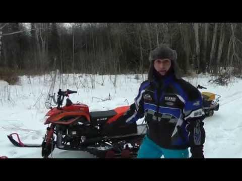 снегоход Irbis Dingo T 150