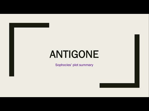 Sophocles' Antigone - Plot Summary