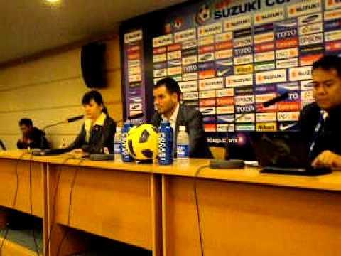 Simon McMenemy post Philippines-Vietnam interview 2010 Suzuki Cup