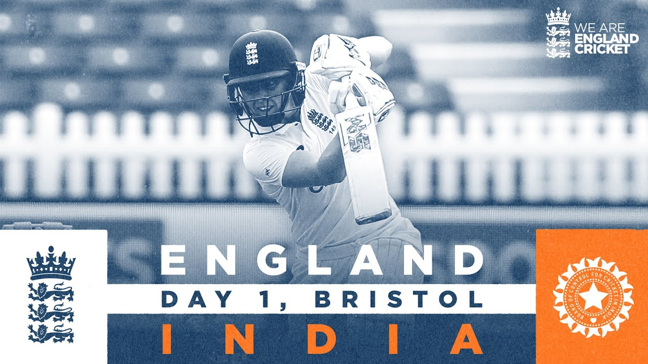 England v India - Day 1 Highlights | Heather Knight Hits 95 | Only LV= Insurance Test 2021