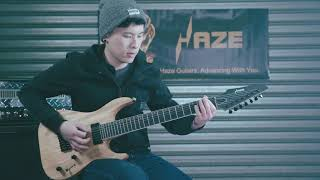 Haze HS-E007NOIL 7-String Electric Guitar Demo