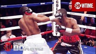 Austin Trout Knocked Down By Erislandy Lara - SHOWTIME Boxing
