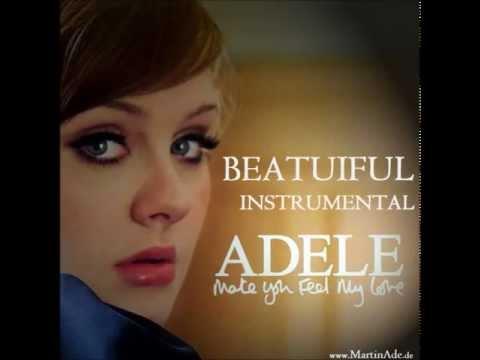 Make you feel my love NEW BEAUTIFUL INSTRUMENTAL Adele