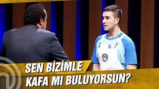 Tunahan'la Mehmet Şef Arasında Güldüren Sohbet   MasterChef Türkiye 16. Bölüm