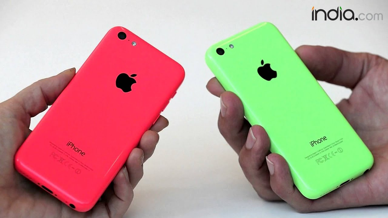 Apple IPhone 5C 8GB Launching In India