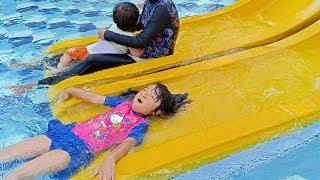 Weekend Seru Berenang di Green Lake Waterpark Depok