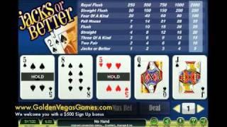 Jacks or Better Video Poker  Jacks or Better Video Poker Trainer