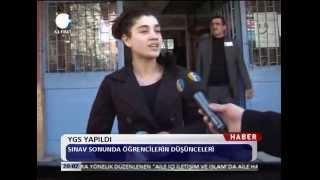 Kanal Fırat Haber YGS Sınavı Yapıldı
