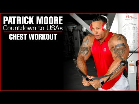 Pat Moore - Last Workout at Home - NPC USA Bodybuilding Championships - Super Heavy Weight