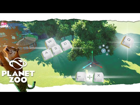 🐅General Guide to CONTROLS & KEYS - Planet Zoo🟢