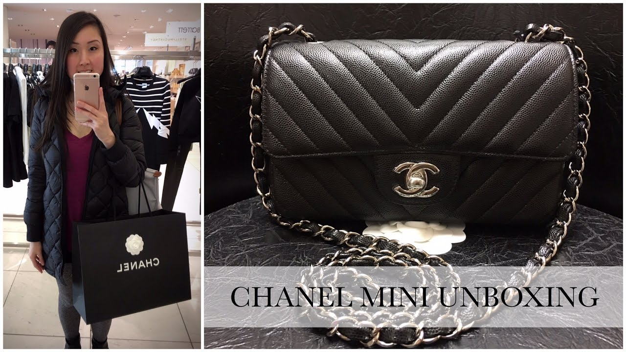 560694b2154410 Chanel Rectangular Mini Unboxing | Aimee Jo - YouTube