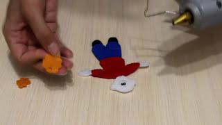 Майстер-клас. Казка ''Ріпка''. Іграшки з фетру. Пальчиковий театр.
