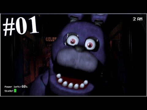 Five Nights at Freddy's [Deutsch / Let's Play] #1 - Die erste Nacht