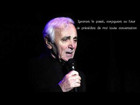 Hier Encore (paroles) - Djena Della (Hommage à Aznavour )