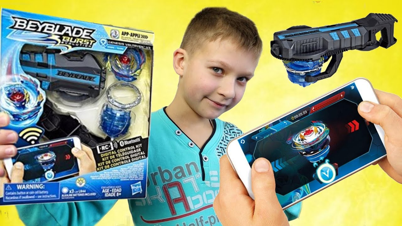 Цифровой ???? Бейблейд Genesis Valtryek V3 Digital Control Kit - ОБЗОР и КОД для игры Beyblade Burst