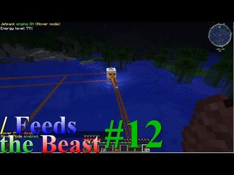 Slash Feeds the Beast #12: Lava Powered Industrial Centrifuge