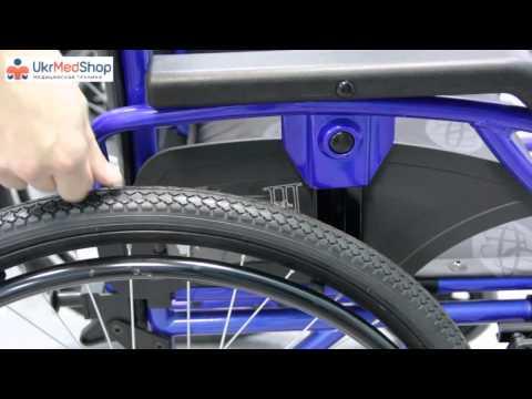 Как накачать колеса на инвалидной коляске