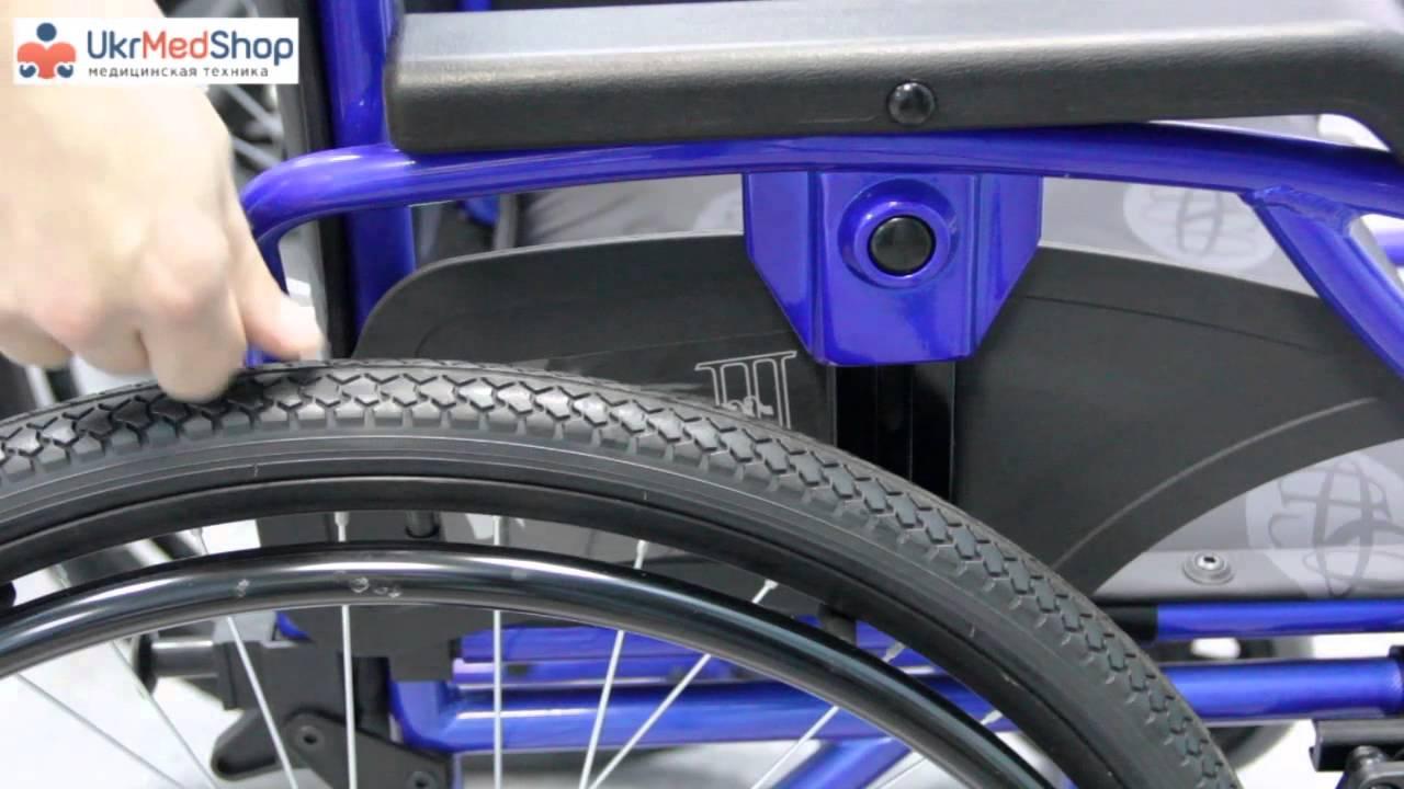 Многоскоростная инвалидная коляска