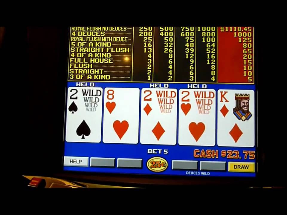 Win deuces wild video poker highest stakes poker game ever played