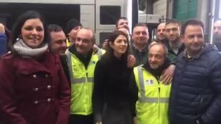 Virginia Raggi: Nel deposito di Tor Pagnotta dove sono abbandonati 45 nuovi filobus