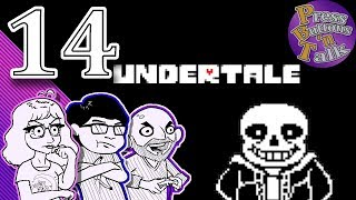 Undertale, Ep. 14: Papyrus's Cooking Lesson - Press Buttons 'n Talk