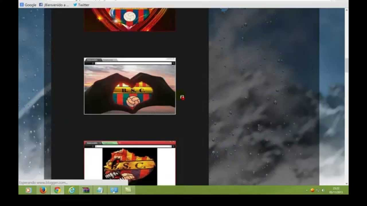 Google themes barcelona - Barcelona Themes To Customize Mozilla Firefox Or Google Chrome