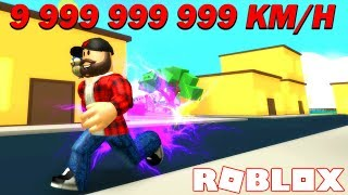 ️ ⚡ increase EXPLOSIVE SPEED 9 999 999 999 KM/H | ROBLOX