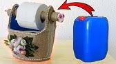 DETERJAN BİDONUNUN EFSANE DÖNÜŞÜMÜ! (Deterjan Bidonundan Tuvalet Kağıtlık Yapımı) / Recycling