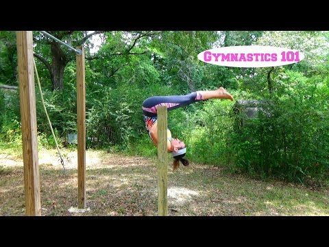 How To Do A Pull-Over On The Bar With Lydia The Gymnast