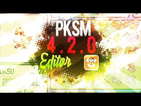 [TUTORIAL] PKSM 4.2.0 - EDITOR Y BANCO POKEMON EN LA MISMA 3DS   POKEMON SOL Y LUNA