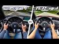 BMW 340i vs 335d ACCELERATION & TOP SPEED POV Autobahn by AutoTopNL