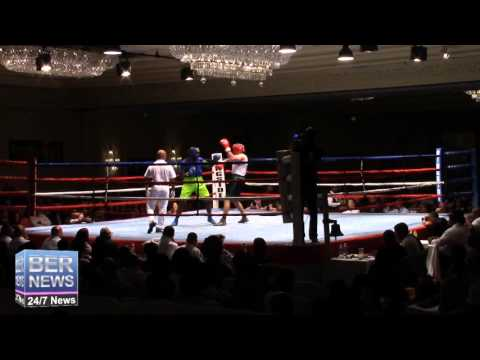 Raul Vlad vs Jaylen Roberts Boxing Match, November 7 2015