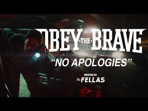 """Obey The Brave """"No Apologies"""""""