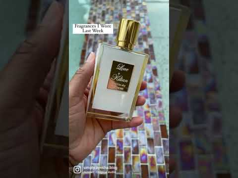 Fragrance Rotation Last Week | Perfume Collection 2021 | #shorts