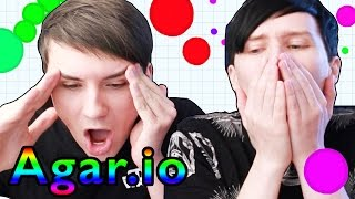 Dan and Phil play Agar.io!