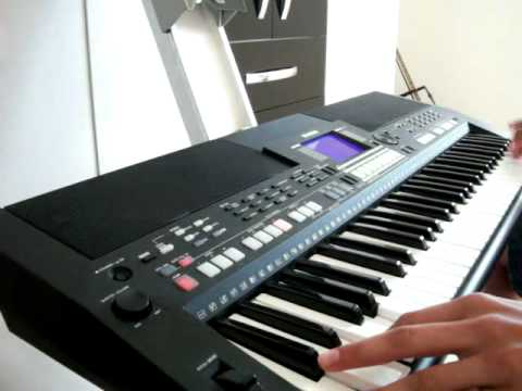 sultans of swing rayker nos teclados yamaha psr s550 youtube. Black Bedroom Furniture Sets. Home Design Ideas