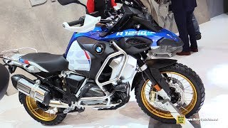 2019 BMW R1250 GS Adventure - Walkaround - Debut at 2018 EICMA Milan