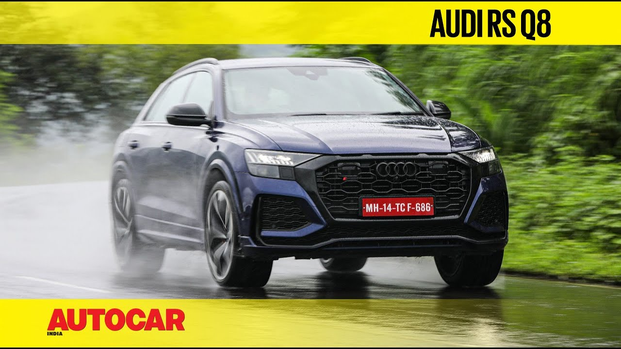Audi RS Q8 review - The SUV that thinks it's a supercar | First Drive | Autocar India