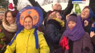 Костромичи снялись в народном клипе на песню Сергея Шнурова «Начинаем отмечать»