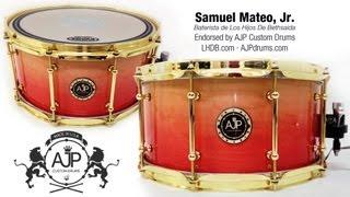 """Unboxing"" Mi Nuevo Redoble de AJP Custom Drums"