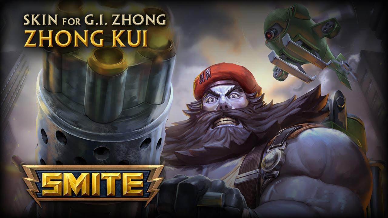 New Zhong Kui Skin: G.I. Zhong