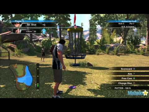 Disc golf video game ps4