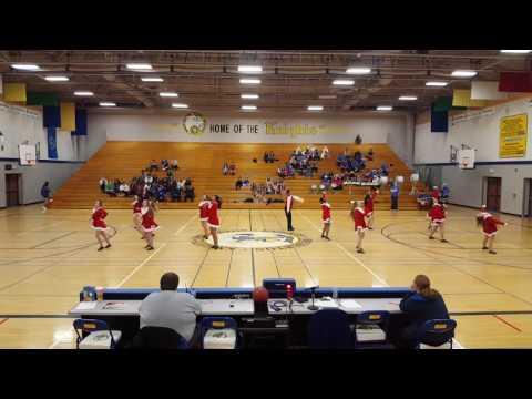 Bremerton High School Drill Team Christmas Performance 2016