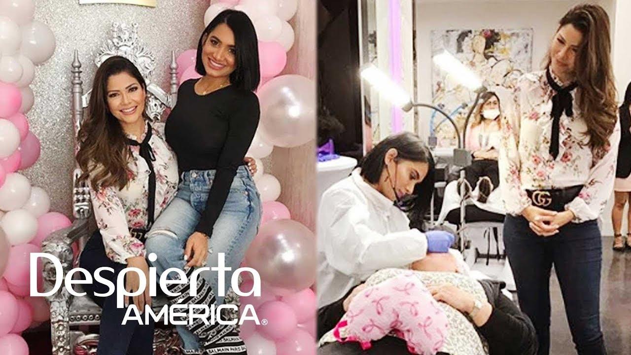 Despierta América: Ana Patricia conoció a Karen Paba, quien ayuda así a pacientes de cáncer