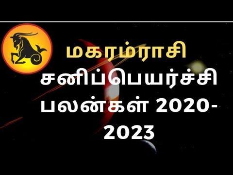 Viruchigam Rasi Sani Peyarchi Palangal 2020 to 2023 Tamil