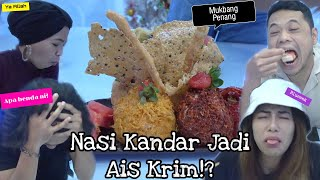 Sumpah Lah Nasi Kandar Jadi Ais Krim?!  (Mukbang di Penang)