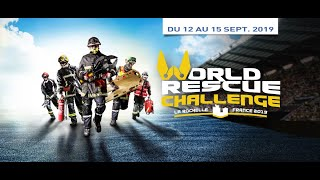 World Rescue Challenge 2019 - La Rochelle, France